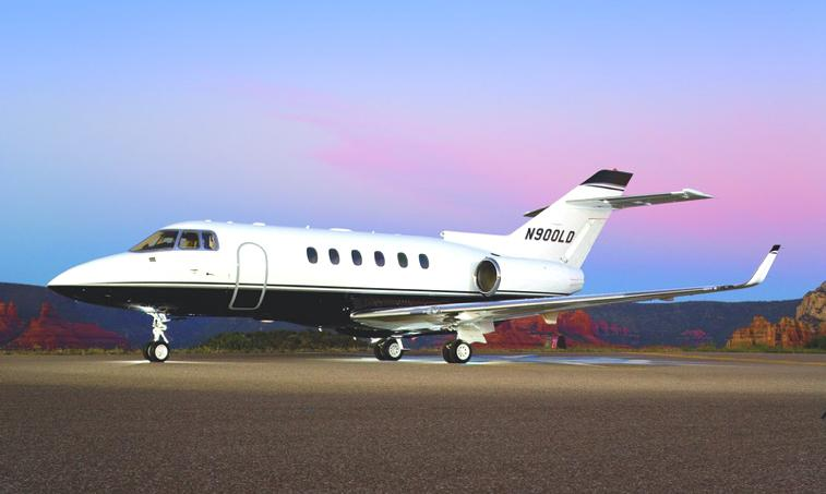 The Hawker 900 features Honeywell TFE731-50R engines designed specifically for the aircraft. Each is rated at 4,660 lbs. of thrust. Increased climb performance and immediate maximum altitude (41,000 feet) are benefits of the new engines. Like the 850XP, the 900XP features the Collins Pro Line 21 avionics suite. Four 8×10 inch adaptive screens display navigation, terrain awareness warning systems, weather, reduced vertical separation minimum and enhanced ground proximity warning systems. The system is set-up