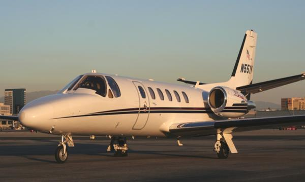 When Cessna decided to update its best-selling private jet, the Citation II, the result was the fuel-efficient Citation Bravo. It has a long range compared to other light-sized private jets and excellent short runway capabilities, allowing its owner to choose from a large selection of small airports. Some examples of non-stop flights include New York to Miami, Los Angeles to San Francisco, and Aspen to Southern California.