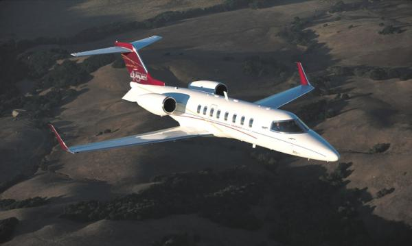 The Learjet 45XR is an extremely reliable jet with great cruise performance and fuel economy. Its innovative systems and efficient performance, borrowed from familial models, make it a viable option for anyone in search of a high-performing, cost-effective mid-sized private jet. The Learjet 45XR can fly 2,301 miles (1,999 nautical miles) nonstop and can cruise at 437 knots. Two AlliedSignal TFE731-20BR turbofan engines provide 3,500 pounds of thrust each on takeoff.